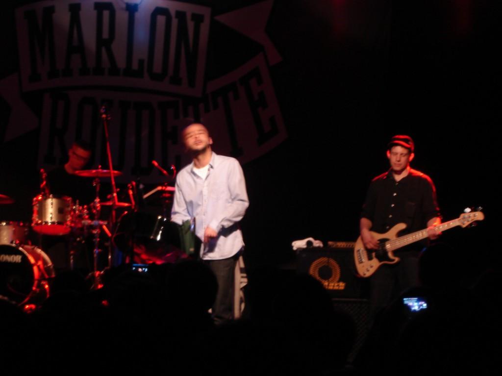 Marlon Roudette spielte auch Lieder seiner Ex-Band Mattafix.