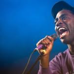 Kele Okereke hatte diesmal mit Bloc Party so viel Spaß wie zuletzt nur solo. Foto: Melt Festival/Stephan Flad