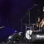 Die Raveonettes durften als zweite Band am Freitag auf die Hauptbühne.
