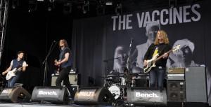 The Vaccines glänzten als erste Band des Tages mit ihren Hits, hatten aber auch etwas Leerlauf im Programm.
