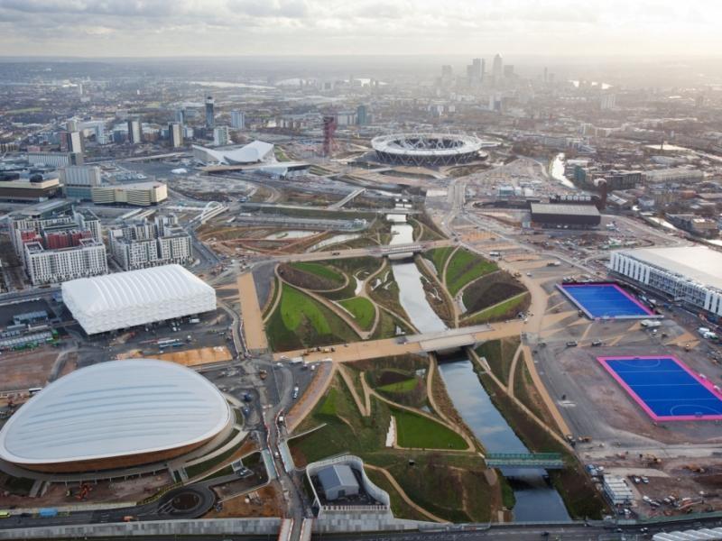Olympia soll die Lebensqualität in Stratford nachhaltig steigern. Foto: Locog