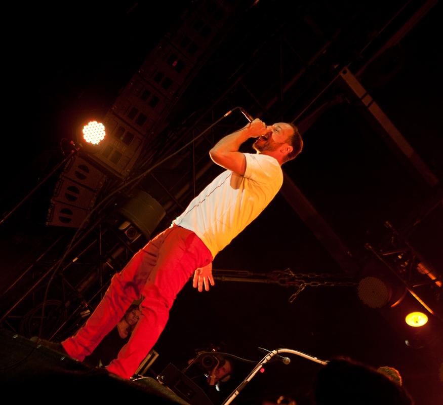 Ein Triumph war die Show der Beatsteaks als Headliner am Samstag. Foto: Christoph Eisenmenger/FKP Scorpio