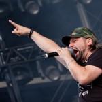 H-Blockx-Sänger Henning ist noch immer eine Naturgewalt, bewies er am Samstag. Foto: FKP Scorpio/Christoph Eisenmenger