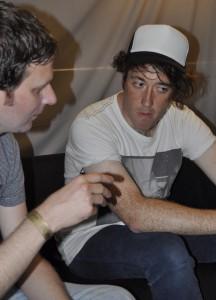 Er fühlt sich nach wie vor ein bisschen missverstanden, gestand mir Wombats-Sänger Murph im Interview.