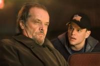 Colin Sullivan (Matt Damon, rechts) arbeitet als Spitzel für den Mafiaboss Frank Costello (Jack Nicholson).