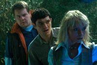 Jimmy (Matthew Horne), Fletch (James Corden) und Lotte (MyAnna Buring, von links) müssen gegen eine Horde von Vampiren kämpfen.