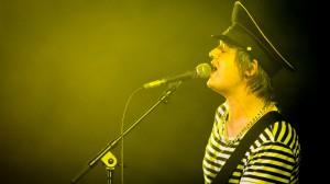 In jeder Sekunde kurz vor dem Kollaps: Pete Doherty beim Melt 2013. Foto: Melt/Stephan Flad
