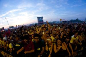 Bis der Arzt kommt: 23.000 Fans feierten die 41 Acts beim Highfield. Foto: Highfield/Christoph Eisenmenger