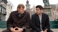 Ken (Brendan Gleeson, links) und Ray (Colin Farrell) sind in Brügge untergetaucht.