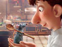 Mit der Hilfe der Ratte Rémy wird Linguini zum Meisterkoch.