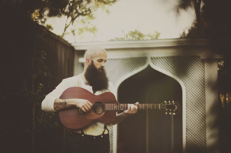 William Fitzsimmons considers himself a vessel for songs. Photo: Erin Brown