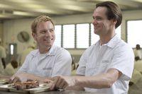Phillip (Ewan McGregor, links) und Steven (Jim Carrey) verlieben sich im Knast.