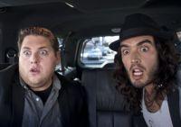 Aaron (Jonah Hill, links) gibt den Aufpasser für Rockstar Aldous Snow (Russel Brand).