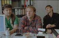 Krischan (Bjarne Mädel) plant eine Meisterschaft der Holzfäller.