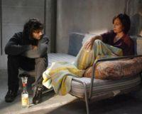 """Szene aus dem Film """"In deinem Bann gefangen"""" mit Pio Marmai und Kristin Scott Thomas"""