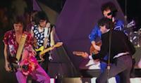 Mit einem aktuellen Hit im Gepäck spielten die Stones ihre 1983er-Welttournee.