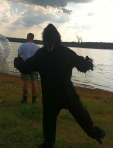 Highfield 2015 Kostüm Gorilla
