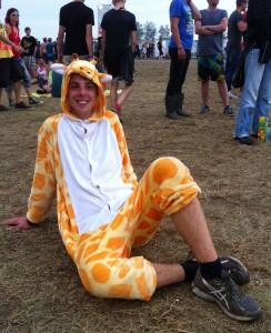 Highfield 2015 Kostüm Giraffe