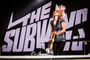 The Subways Highfield Festival Show Live