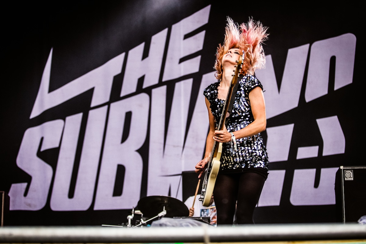 The Subways Highfield Festival Show Live