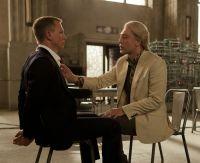 "Szene aus dem Film ""James Bond 007 Skyfall"" mit Daniel Craig und Javier Bardem"