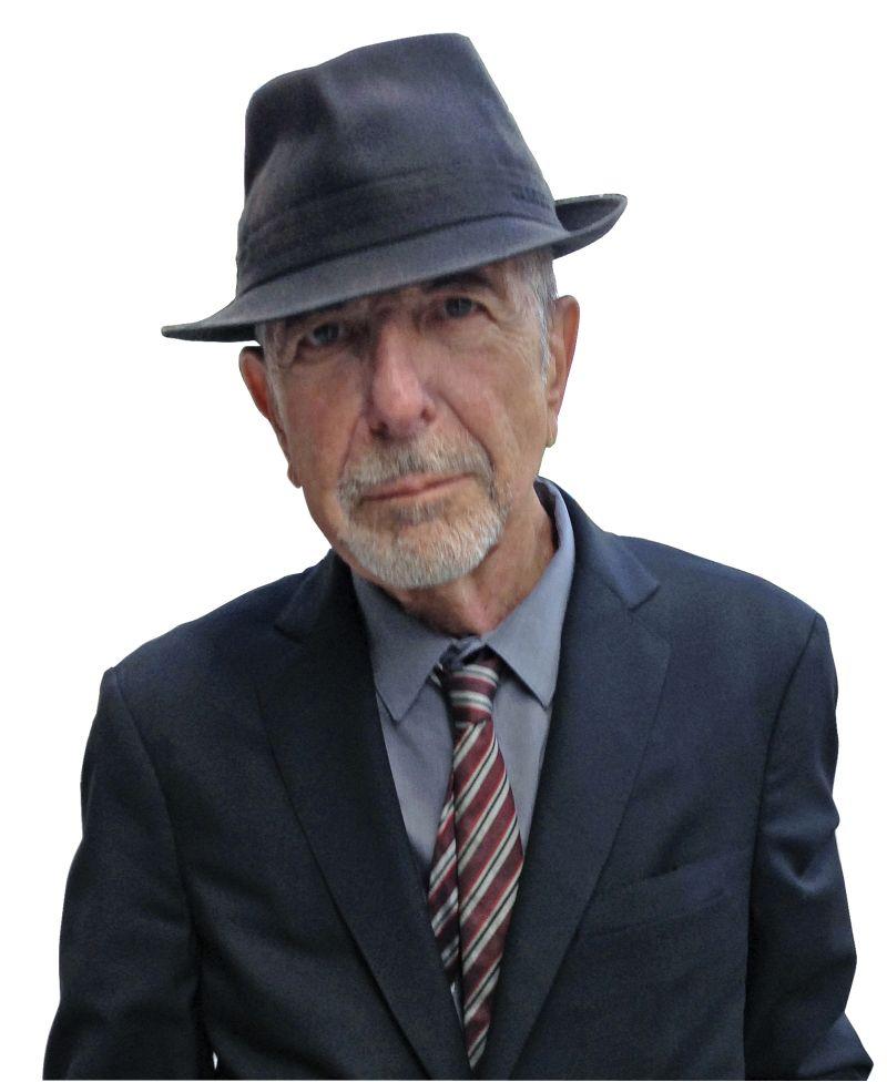 Foto von Leonard Cohen aus dem Jahr 2014