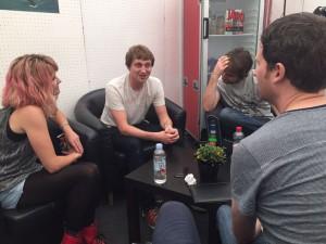 Billy Lunn, Charlotte Cooper and Josh Morgan The Subways