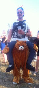 Highfield 2015 Kostüm Teddy