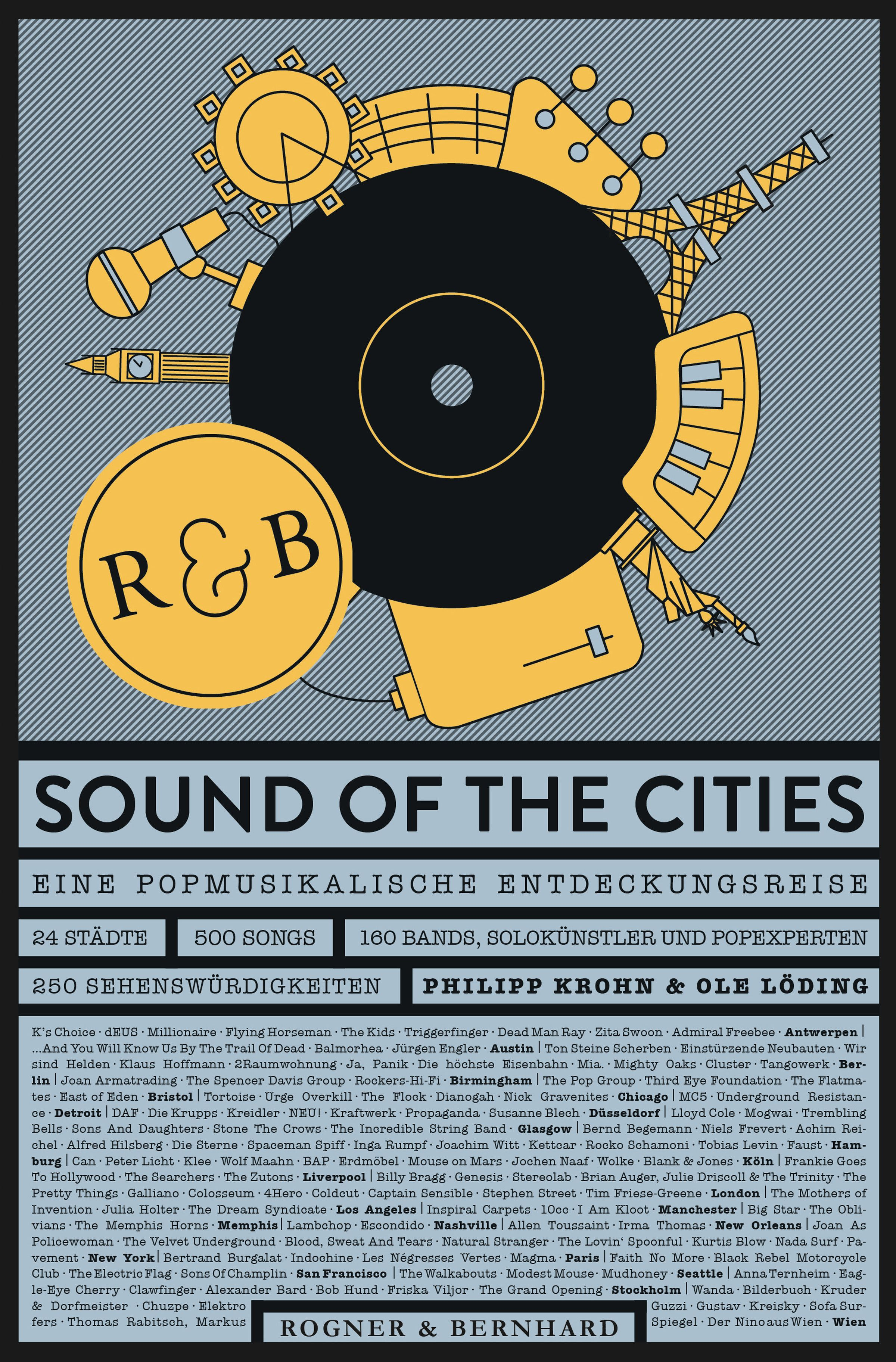 Cover des Buchs Sound Of The Cities bei Rogner & Bernhard Philipp Krohn Ole Löding