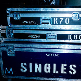 Cover des Albums Singles von Maroon 5