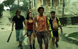 Szene aus dem Film Juan Of The Dead mit Alexis Díaz de Villegas