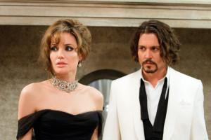 Szene aus dem Film The Tourist mit Johnny Depp und Angelina Jolie