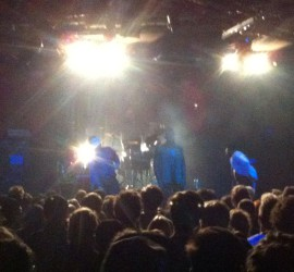 Konzertfoto Young Fathers Conne Island Leipzig