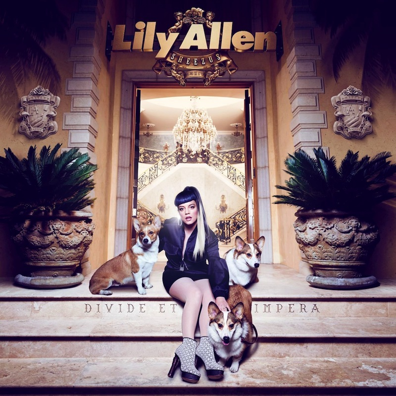 Cover des Albums Sheezus von Lily Allen Kritik Rezension