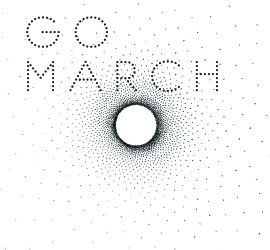 Cover des Albums Go March bei Unday Records