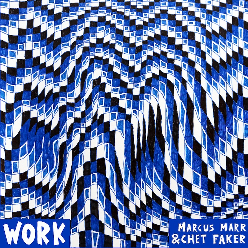 Cover der EP Work von Marcus Marr und Chet Faker