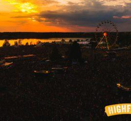 Highfield 2016 Gelände