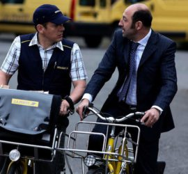 Willkommen bei den Sch'tis Filmszene Fahrrad
