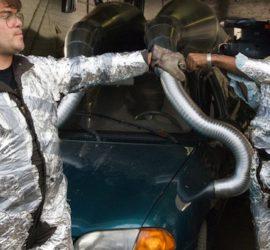 Szene aus dem Film Abgedreht mit Jack Black und Mos Def