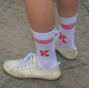 Kosmonaut Kraftklub Socken