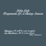 John Cale Fragments Of A Rainy Season Review Kritik