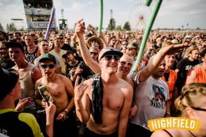 Highfield Festival 2016 Erste Reihe